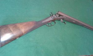 J A Kerr 12 bore hammer gun